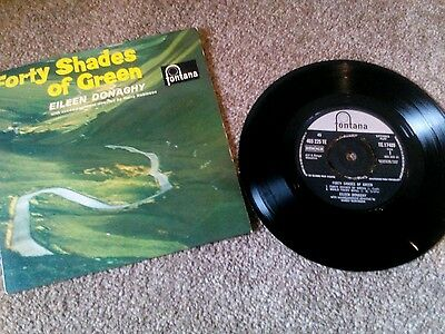 EILEEN DONAGHY forty shades of green 1963 UK FONTANA PS EP