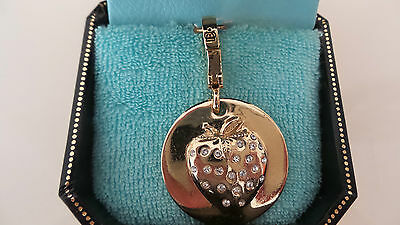 Juicy Couture Gold Strawberry Very Early Yjru0488  Rare Blue Box