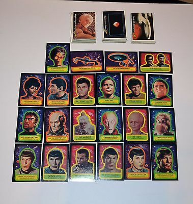 1976 Topps Star Trek Trading Cards Complete Set 88 Cards And 22 Stickers VINTAGE
