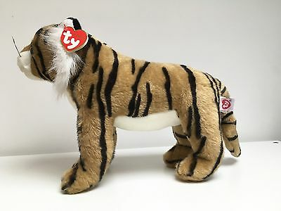 TY Classic Plush Dash The Tiger Cat Mint Condition New With Tags On