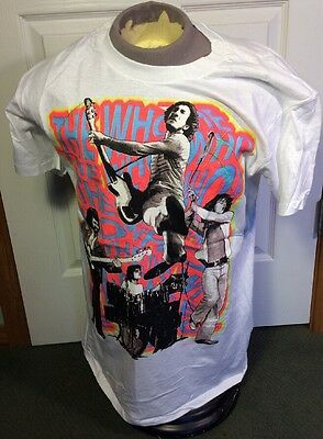 Vintage Very Cool 1989 The Who T-Shirt Excellent XL (46-48) 80's Made in USA