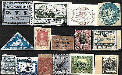 307 - Small Selection Of Repros, Forgeries, Fakes, Falsos, Faux