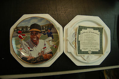 Frank Robinson 1994 bradford Exchange plate collector collection