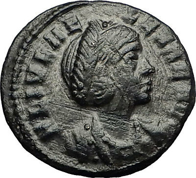Saint HELENA Constantine I the Great Mother 330AD Ancient Roman Coin PAX i58655