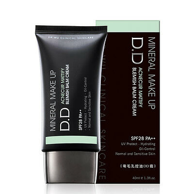 [DR. WU] Mineral Makeup Acnecur Mattify DD Blemish Balm Cream SPF28 PA++ 40ml