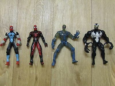 Superhero figures - SET OF 4 - Spiderman and Venom SPECIAL EDITION