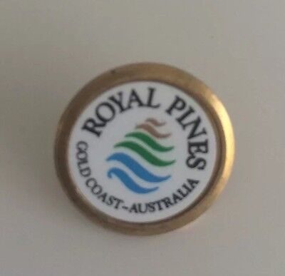 Royal Pines Gold Coast Australia Golf Ball Marker Collector Item