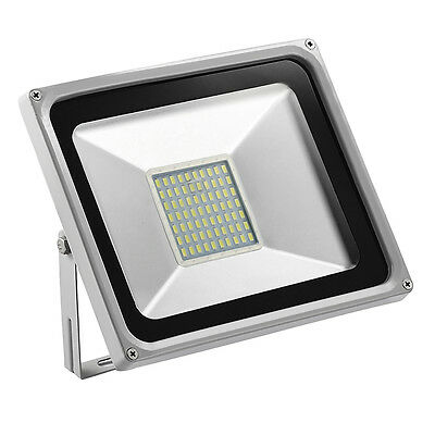 New 50W LED Floodlight SMD Outdoor Garden Security Lamp Waterproof Cool White