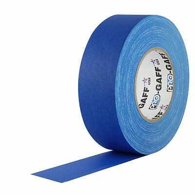 """ProTapes 2"""" Width Pro Gaff Premium Matte Cloth Gaffer's Tape with Rubber Adhesiv"""