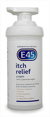 E45 Itch Relief Cream 500g Pump