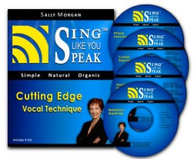 SALLY MORGAN's SING LIKE YOU SPEAK Cutting Edge Vocal Training Program