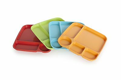 Nordicware 41500 Party Trays, Set of 4 BPA-Free Melamine