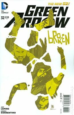 Green Arrow (2011 4th Series) #32 Good DC Comic (C-2)