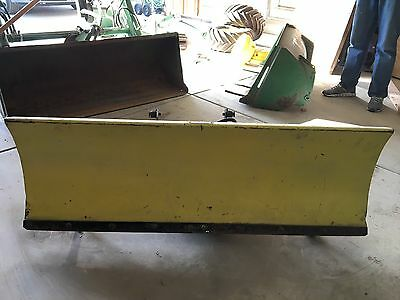 "John Deere Hydraulic Snow Blade 54"" With Manual"