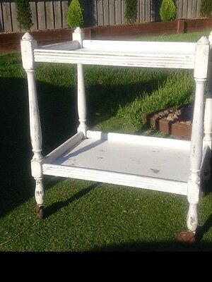 Vintage Shabby Chic Drink Trolley