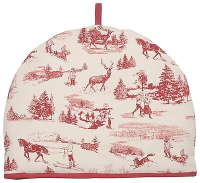 Now Designs Tea Cosy, Holiday Toile Print