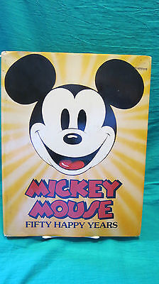 3-Mickey Mouse 50 Happy Years, 1978 Life Magazine, Time Magazine Mickey is 60!