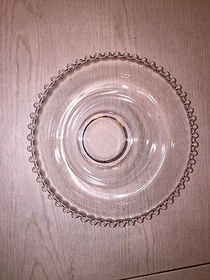 Vintage 1936-1956 Round Imperial Candlewick Serving Bowl 9 Inch Diameter