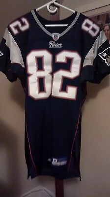 new england patriots game worn football jersey