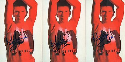 3 Authentic Signed Mike Joyce The Smiths 6X4 Pr Cards With Letter As Proof..real