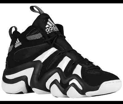 NEW ADIDAS CRAZY 8 Kobe Bryant Kb 1 Black White Boost G21939 ... d9a263507