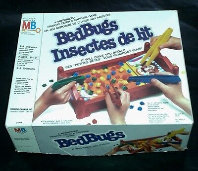 Vintage Bed Bugs Boardgame