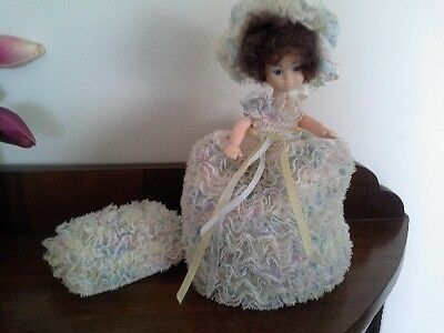 Vintage 50's Toilet Roll Cover Doll