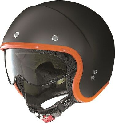 Nolan N-21 Durango Helmet Flat Black/Orange Md