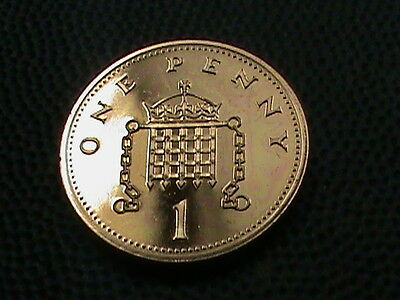 GREAT  BRITAIN    1  Penny    1985    PROOF