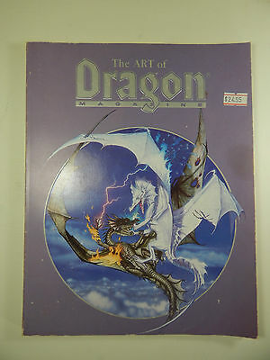 The Art of Dragon Magazine Dungeons and Dragons.