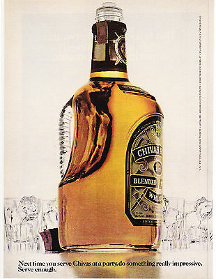 Original Print Ad-1978 Next Time You Serve CHIVAS REGAL At A Party-Serve Enough