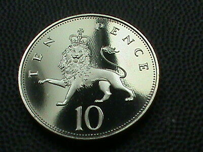 GREAT  BRITAIN     10  Pence    1984    PROOF