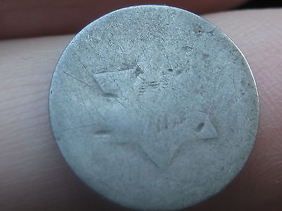 1851-1853 Three 3 Cent Silver Piece- Scarce Type Coin
