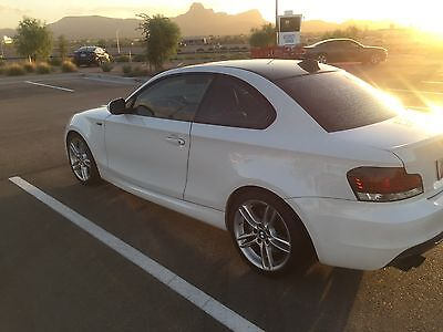 2011 BMW 1-Series  2011 White BMW 135I M PACKAGE Coupe Car Clean tittle Private seller pay No Tax