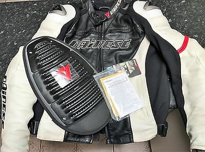 "Mens Dainese Bike Jacket + BACK ARMOR, GREAT CONDITION, SIZE 54"" FREE POST"
