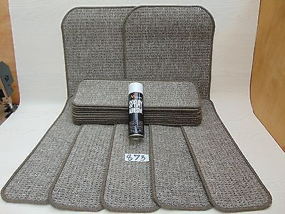 Stair pads 60 cm Wide 15 off and 2 Big Mats with a FREE can of SPRAY GLUE  873-4
