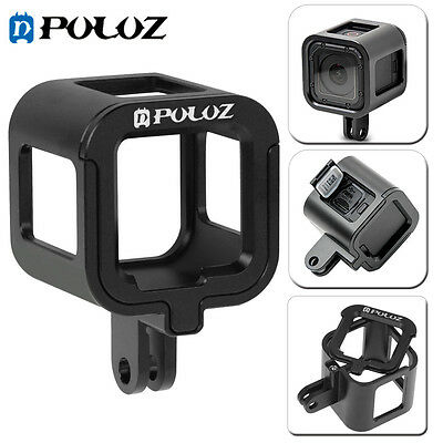 Housing Shell Aluminum Alloy Protective Frame Cage for GoPro HERO5 /4 Session