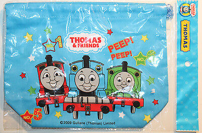 Thomas & Friends Train Drawstring Bento Lunch Bag from Japan James Percy