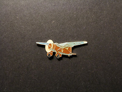 Very Small Vintage Airplane Lapel Pin Uk Made  Aircraft Helicopter