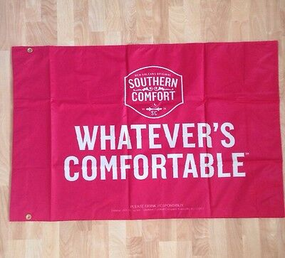 """Southern Comfort """"whatever's Comfortable"""" XL Flag Or Banner New Orleans Original"""