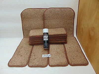Stair pads / treads 15 off and 2 Big Mats with a FREE can of SPRAY GLUE 1035-2