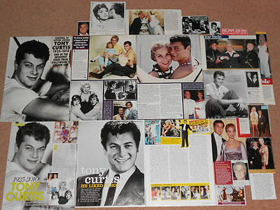 20+ TONY CURTIS Magazine Clippings
