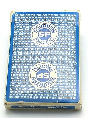 SOUTHERN PACIFIC RAILROAD : complete deck of vintage playing cards