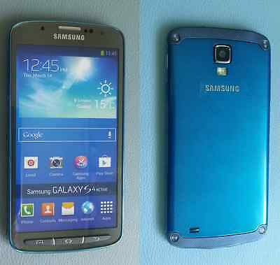 "Samsung Galaxy S4 Active ""Blau"" Handy Dummy Attrappe"