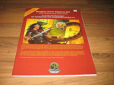 d20 Dungeon Crawl Classics #37  The Slithering Overlord 2006 Goodman Games