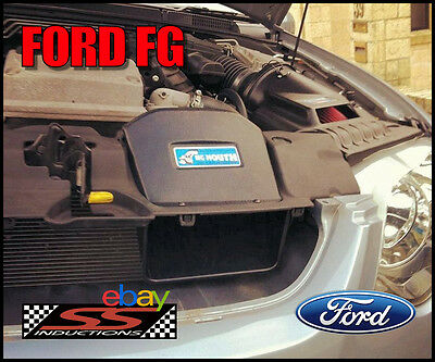 Ford Fg Xr8 Gt Pursuit - Ss Inductions Big Mouth Cold Air Induction