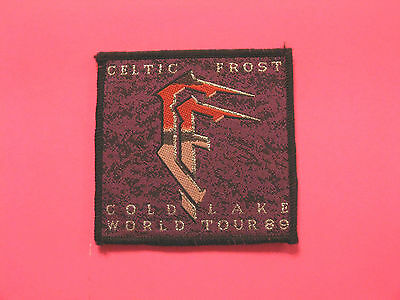 "Celtic Frost Official Vintage Patch Uk Import Sew On   ""world Tour 89"""
