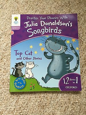 Julia Donaldson Oxford Reading Tree Level 1 Top Cat Book 12 Stories