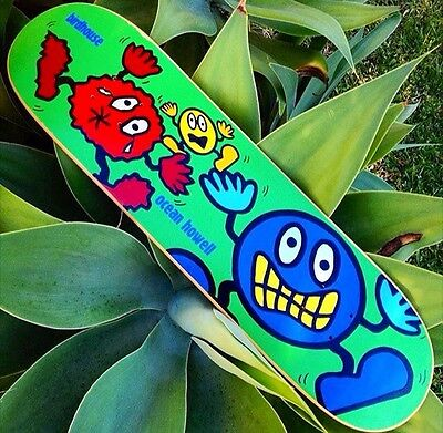 Birdhouse Skateboards Ocean Howell Skateboard Deck NOS Ultra Rare!