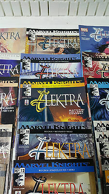 Large Lot of 15+ Marvel Knights Electra Comic Books - Great Condition